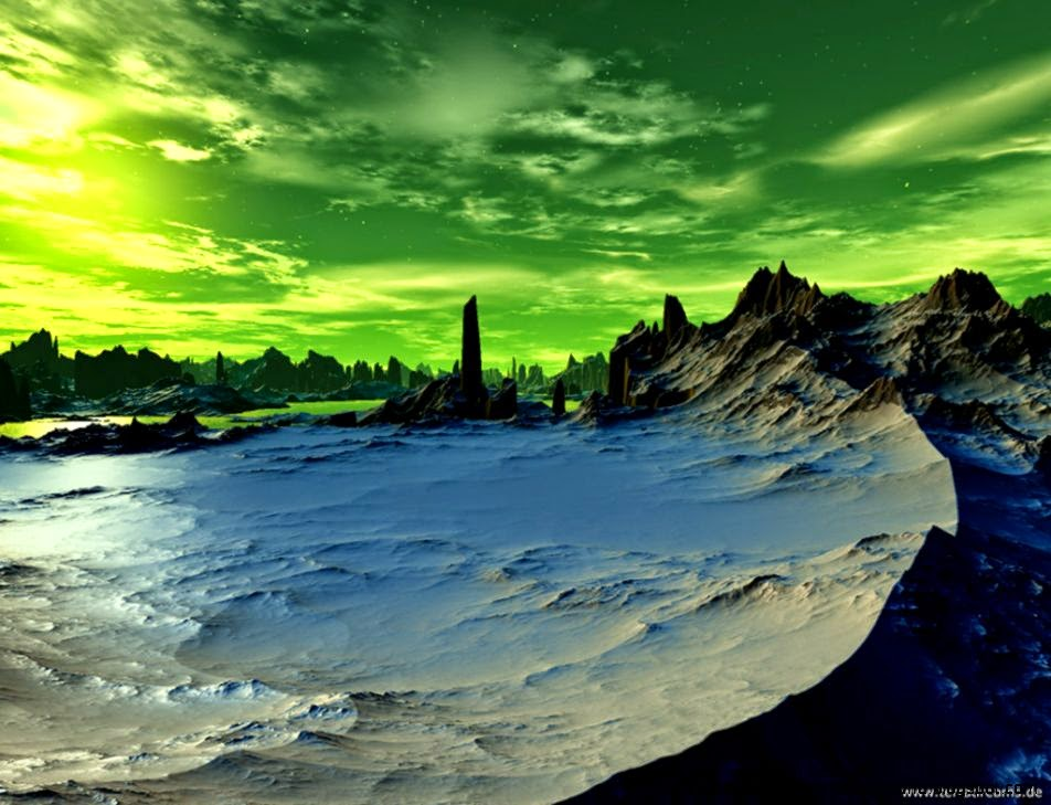 View Original Size - 3d Art Scenery , HD Wallpaper & Backgrounds