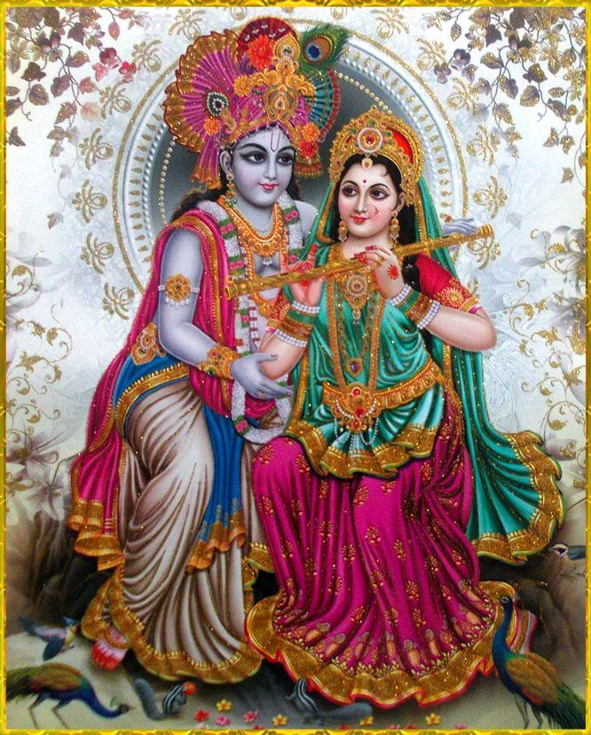Radha Krishna Hd Wallpaper For Mobile Lord Krishna And Radha In