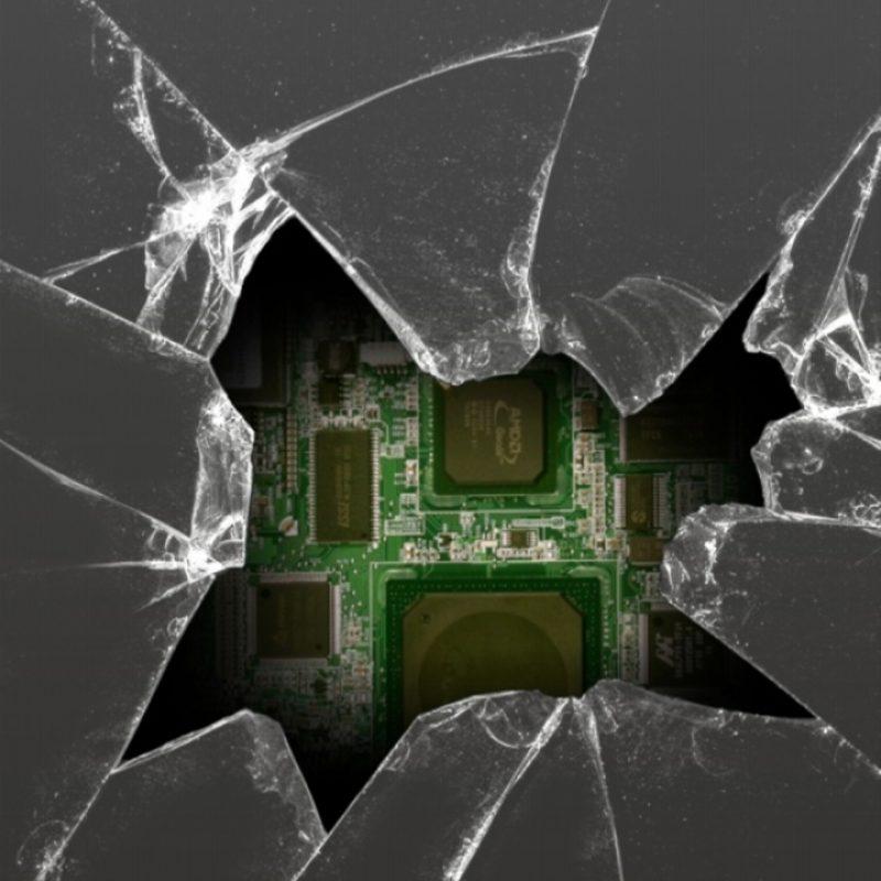 cracked broken phone screen gif