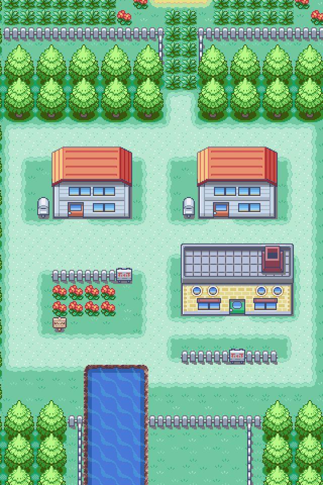 Pokemon Iphone Wallpaper - Pallet Town Iphone , HD Wallpaper & Backgrounds
