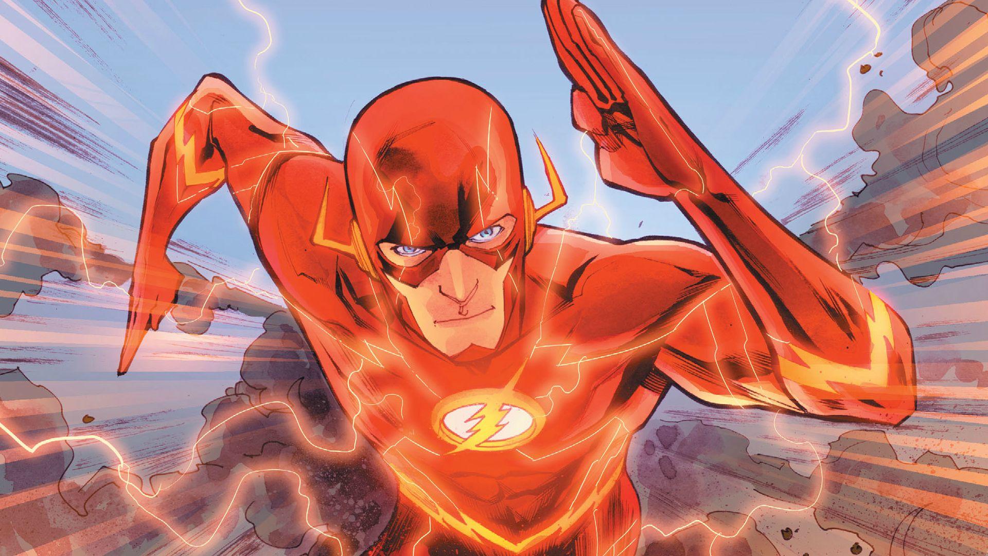 Flash Hd Wallpaper - Francis Manapul Flash (#894283) - HD ...