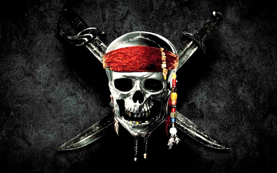 Fluch - Pirates Of The Caribbean Pirate Flag , HD Wallpaper & Backgrounds