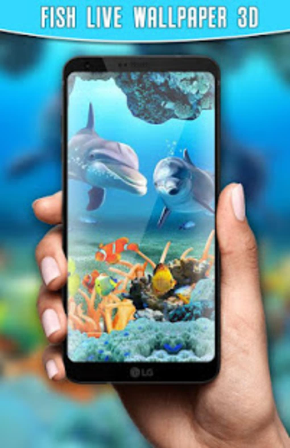 9 90374 fish live wallpaper 3d aquarium background hd mobile