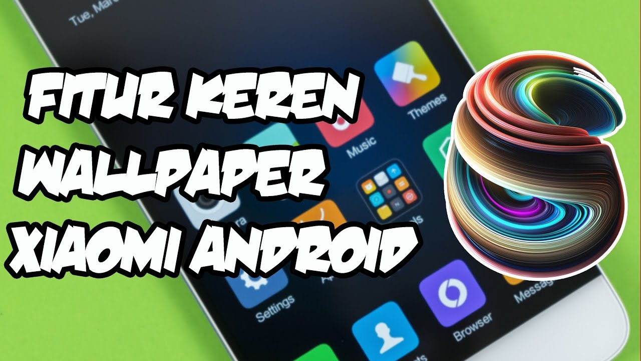 Cara Mengganti Wallpaper Lockscreen & Home Screen Hp - Xiaomi Wallpaper Keren , HD Wallpaper & Backgrounds