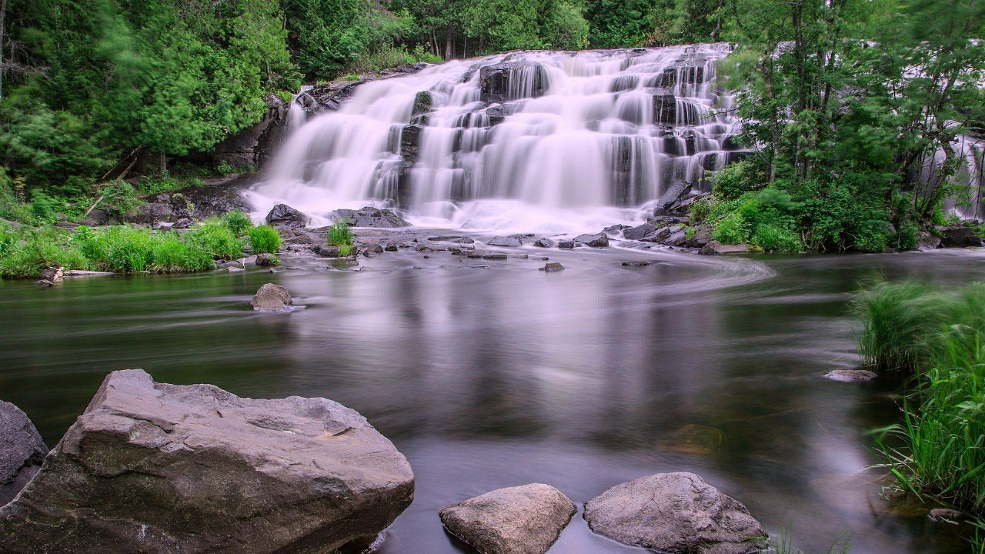 Waterfall Live Wallpaper - Bond Falls , HD Wallpaper & Backgrounds
