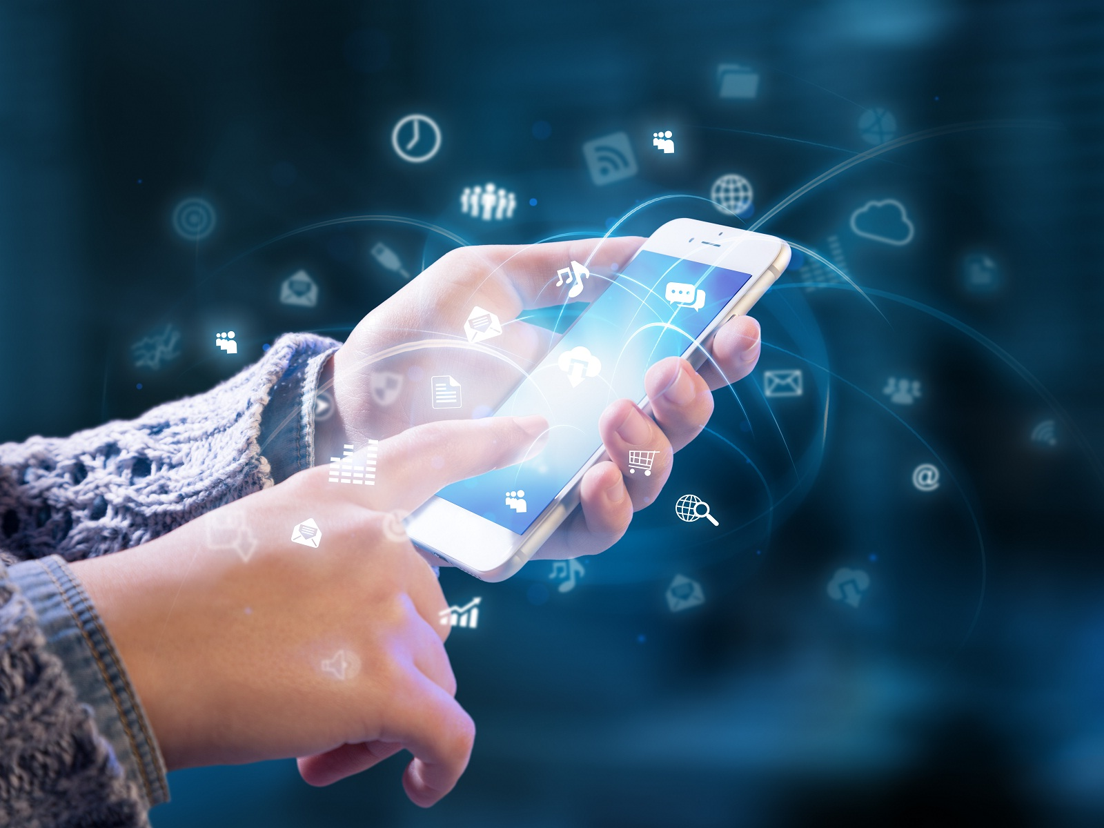 Data At Your Fingertips , HD Wallpaper & Backgrounds