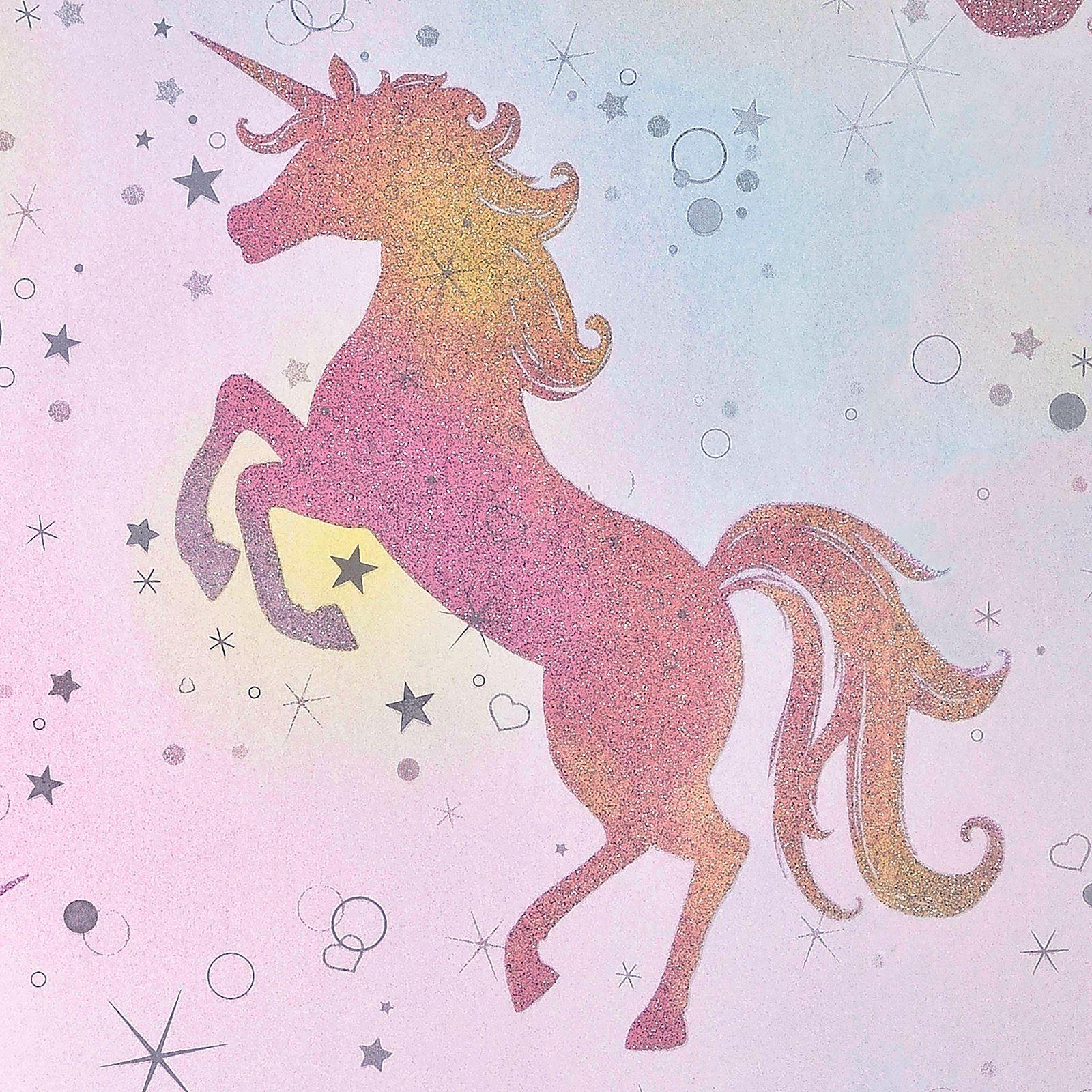 Be Dazzled Dancing Unicorn Wallpaper Rainbow Unicorn Wallpaper