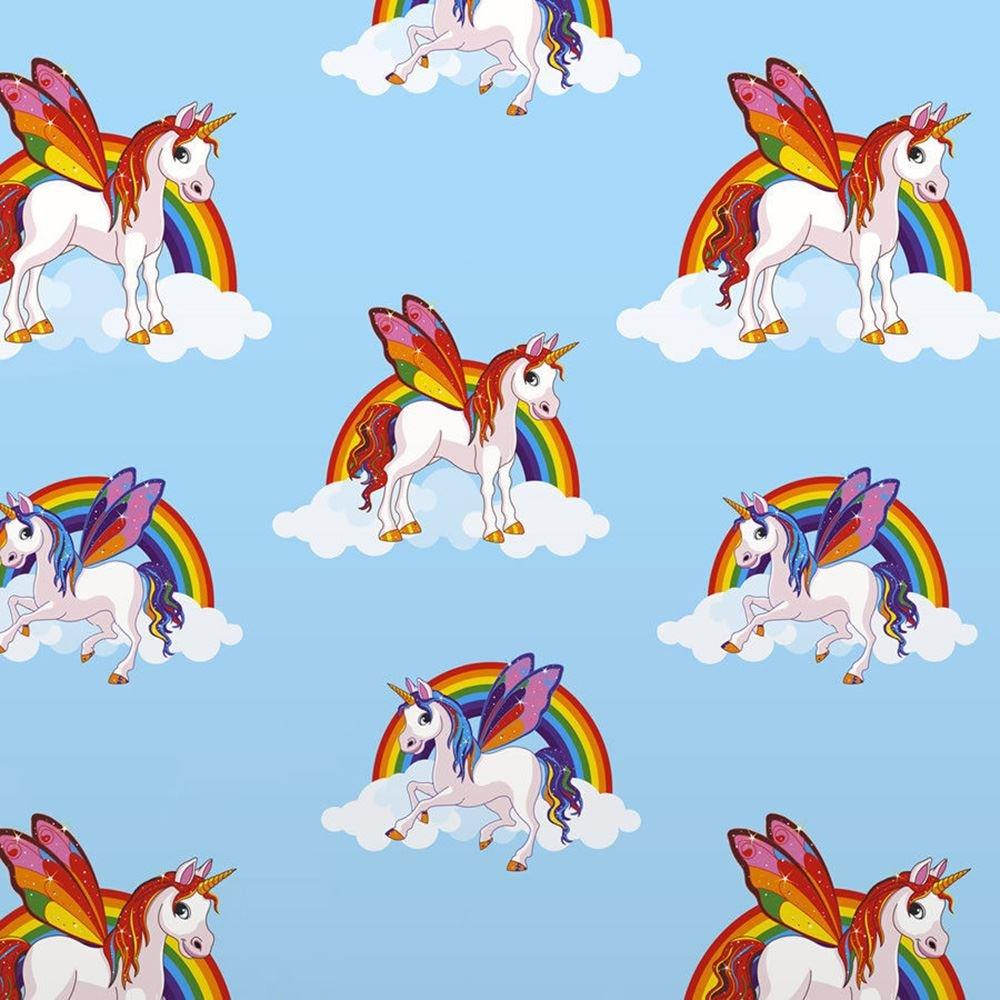 Rainbow Unicorn Wallpaper Girls Multicoloured Pony Unicorn Wallpaper Cute Hd Ipad 92825 Hd Wallpaper Backgrounds Download