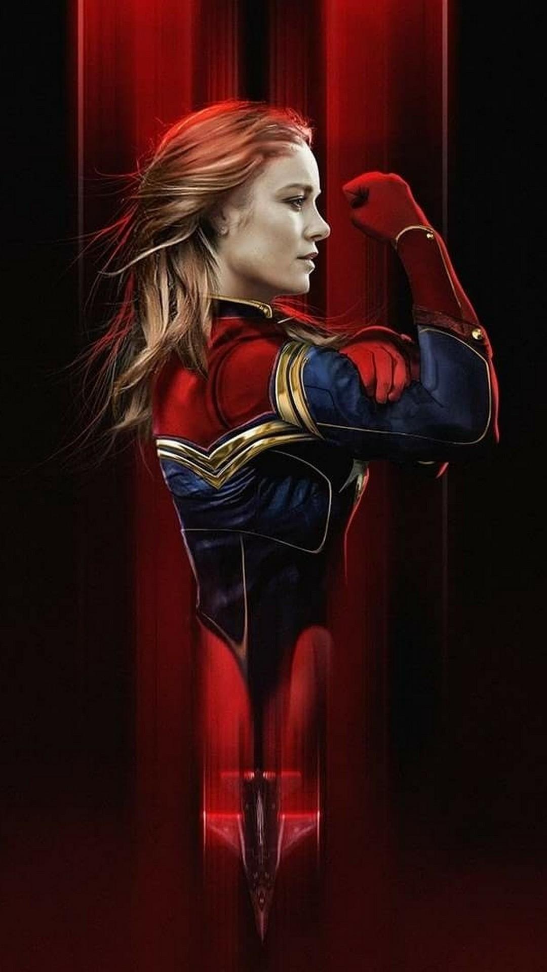 Start Download - Brie Larson Captain Marvel Wallpaper Hd , HD Wallpaper & Backgrounds