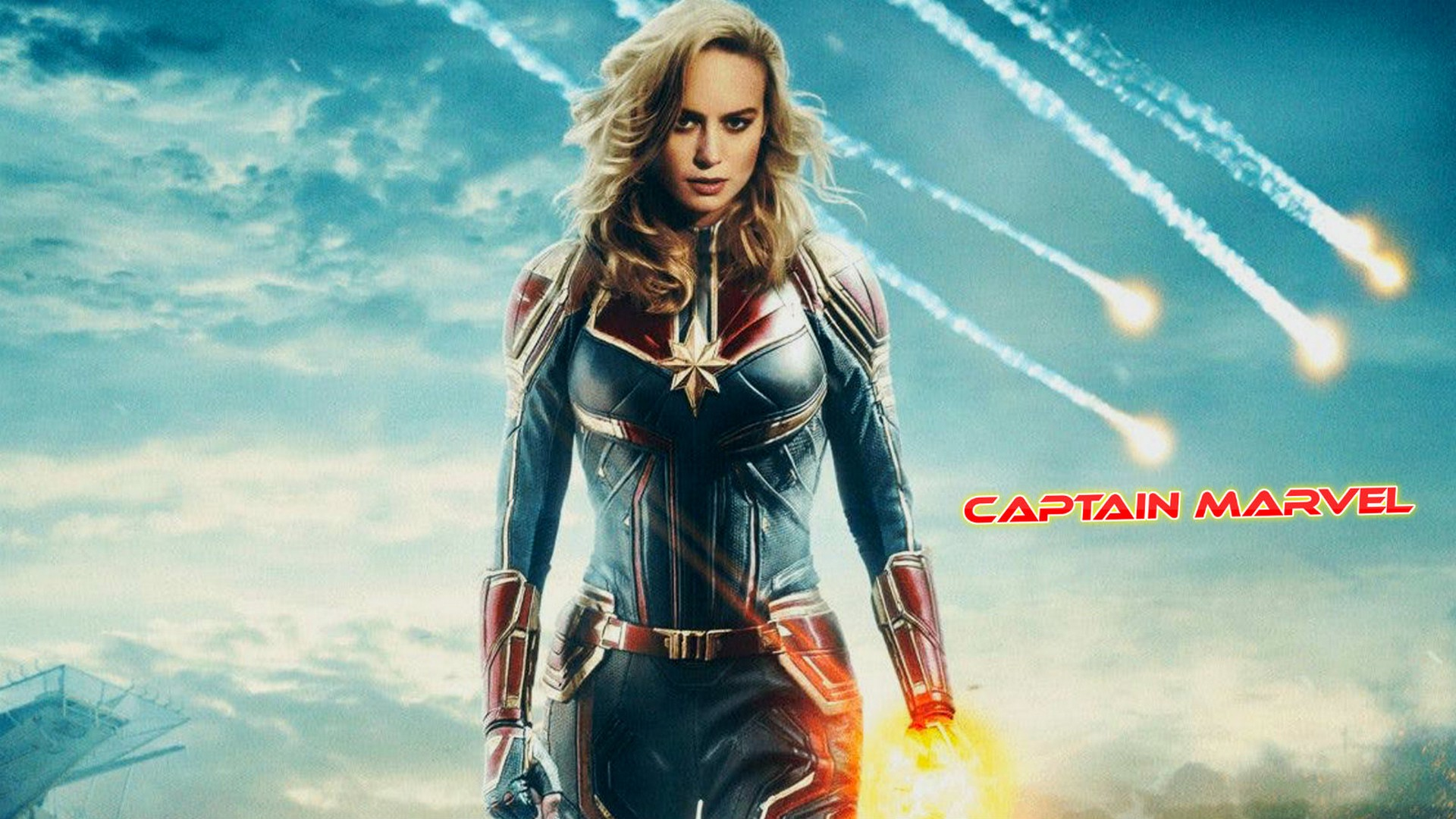Start Download Captain Marvel 94864 Hd Wallpaper