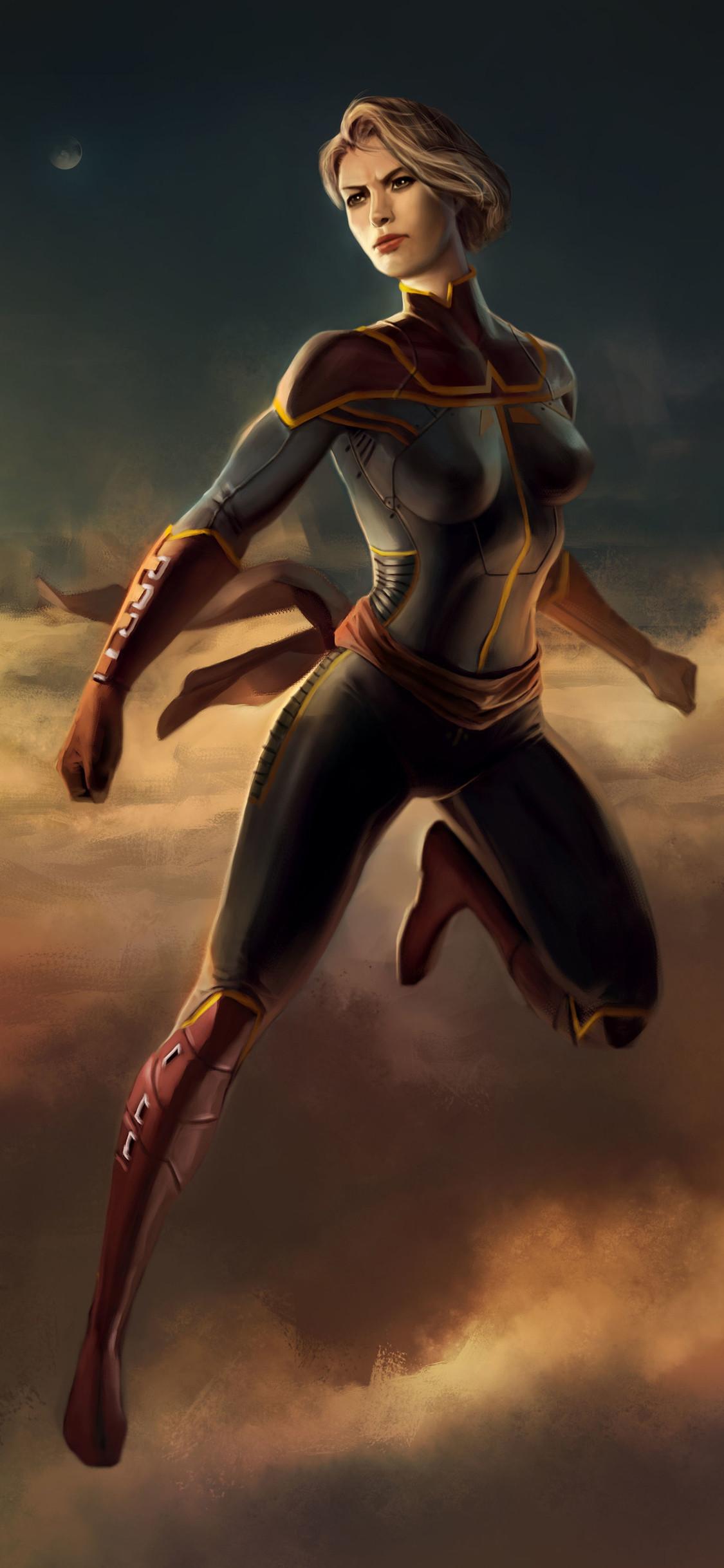 Wallpaper Marvel Hydra Coupã© Front - Captain Marvel Comic Art , HD Wallpaper & Backgrounds