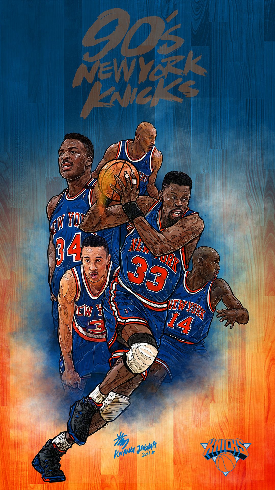 Nba Wallpapers New York Knicks Wallpaper Phone 96290 Hd