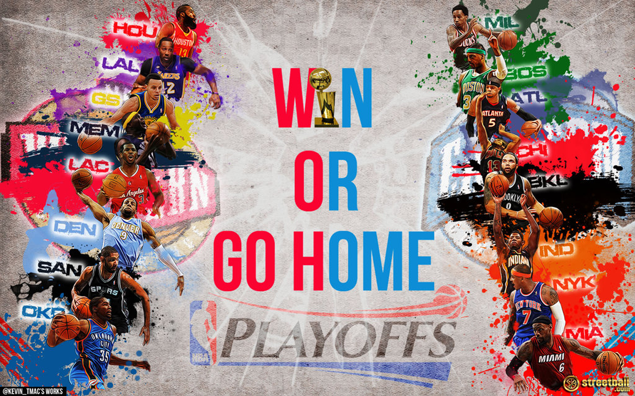 Nba Wallpaper - Nba Playoffs Win Or Go Home , HD Wallpaper & Backgrounds