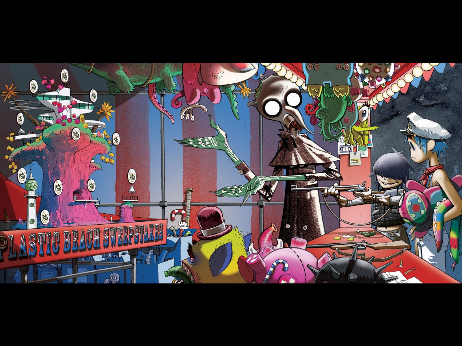 Gorillaz Wallpaper And Background Image Cyborg Noodle Y 2d
