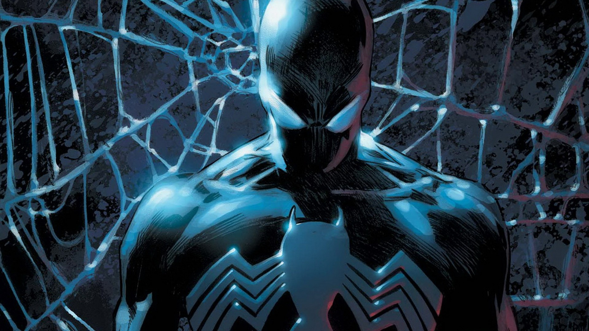 Shattered Dimensions Hd Wallpaper Symbiote Spiderman 98011