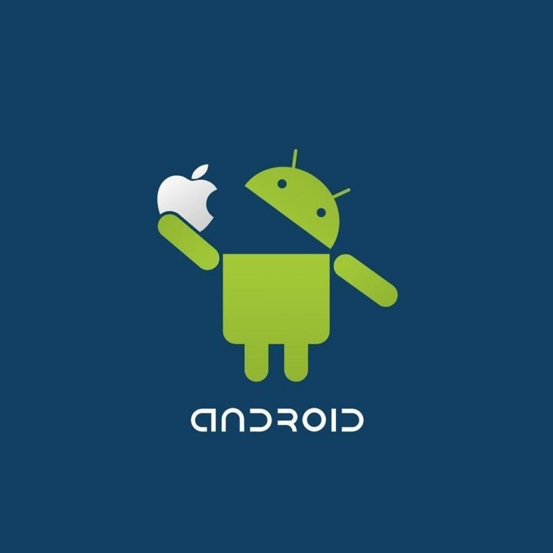 10 New Android Eating Apple Wallpaper Full Hd 1080p - Android Wallpaper For Ipad , HD Wallpaper & Backgrounds