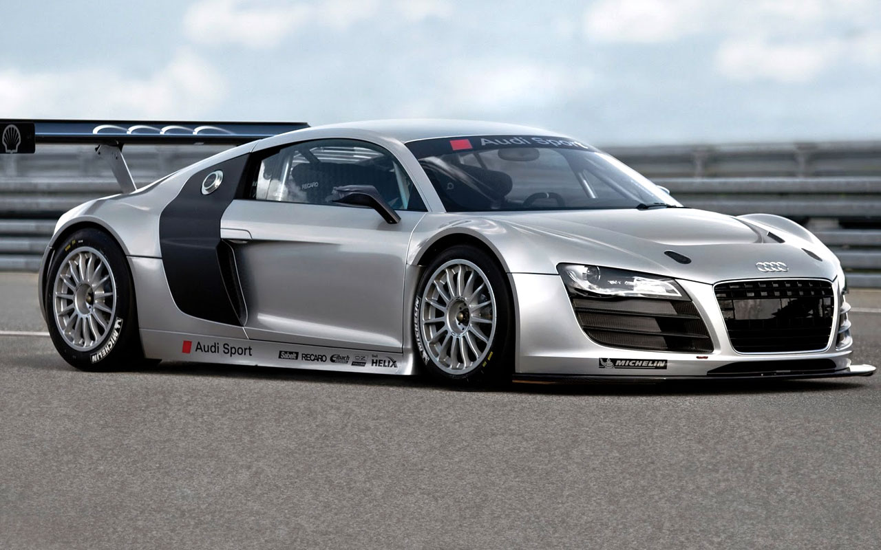 Most Expensive Cars Wallpapers Audi R8 Gt3 2008 98249 Hd Wallpaper Backgrounds Download