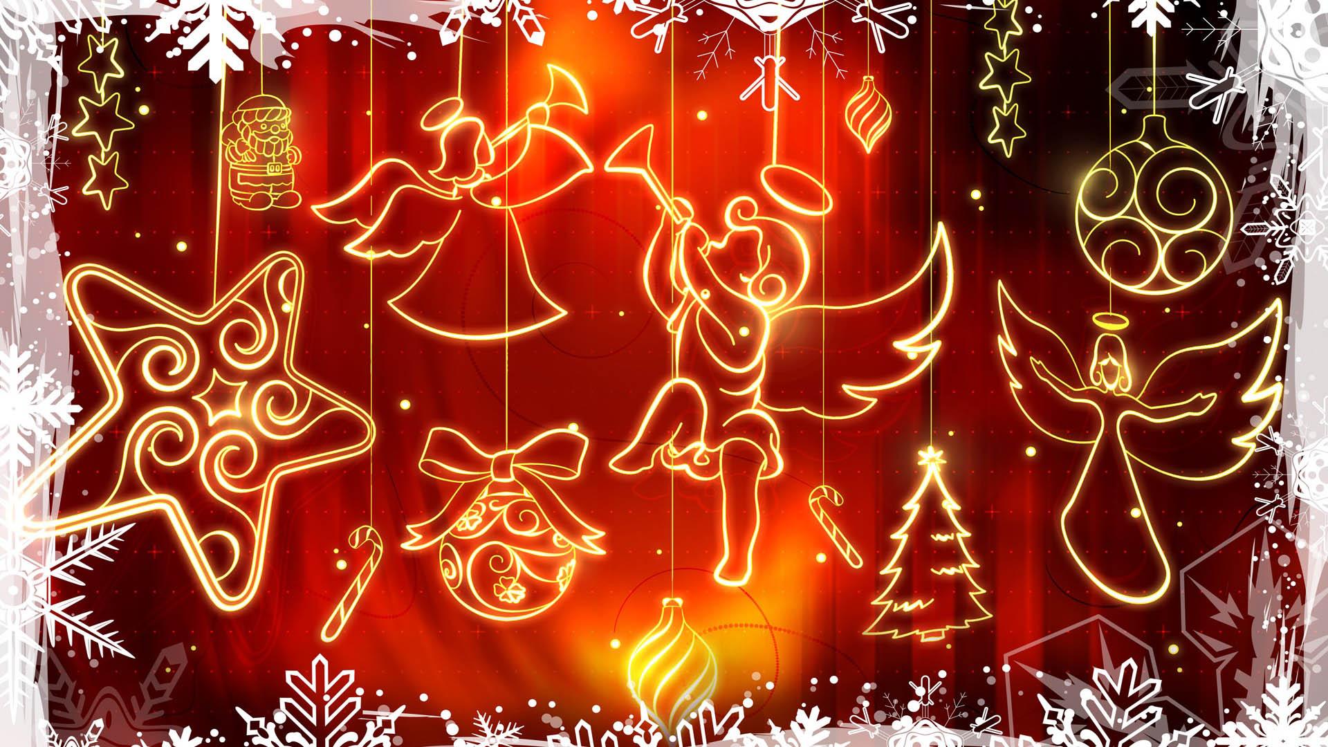 Merry Christmas Full Hd , HD Wallpaper & Backgrounds