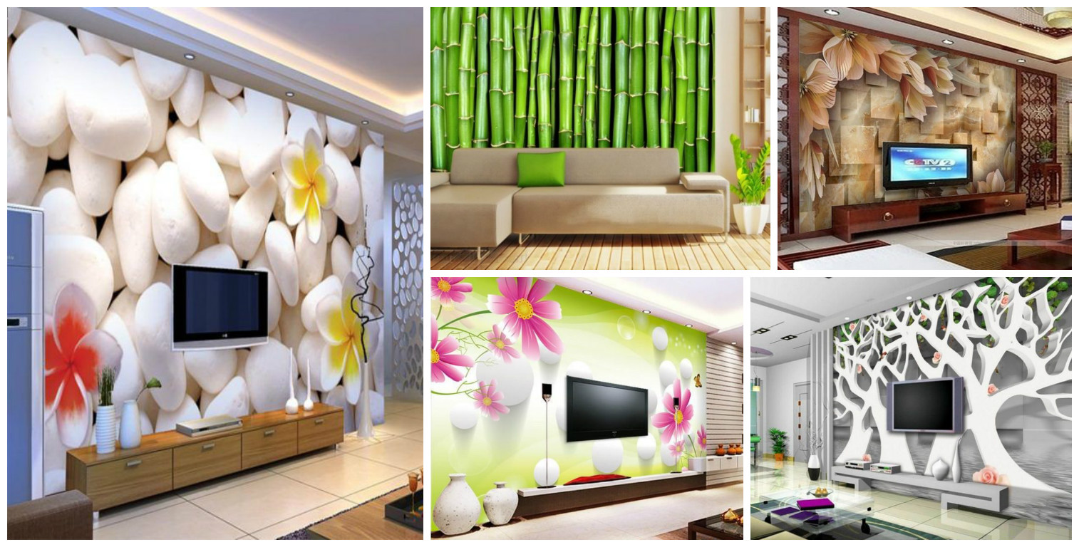 3d Wall Paper For Living Room , HD Wallpaper & Backgrounds