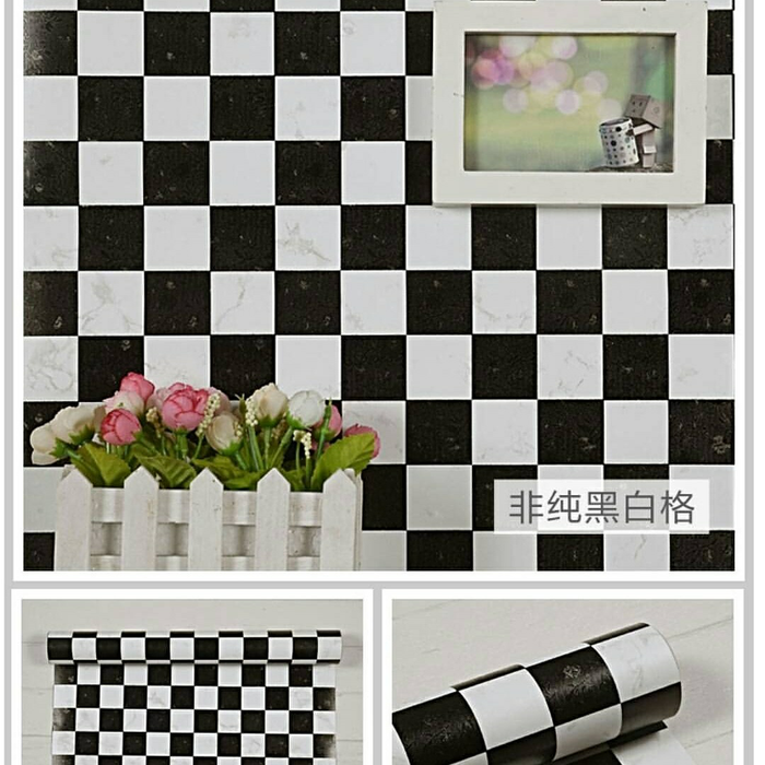 38 wallpaper kotak kotak hitam putih hd