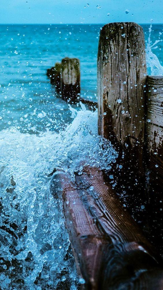 That Ocean Blue Tho Iphone X Wallpaper 4k 901979 Hd Wallpaper Backgrounds Download