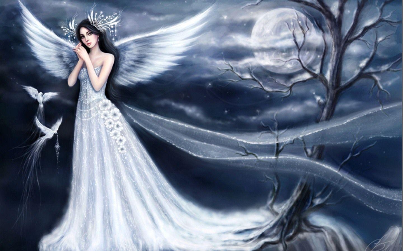 Free Angel Wallpapers Snow Angel 902671 Hd Wallpaper