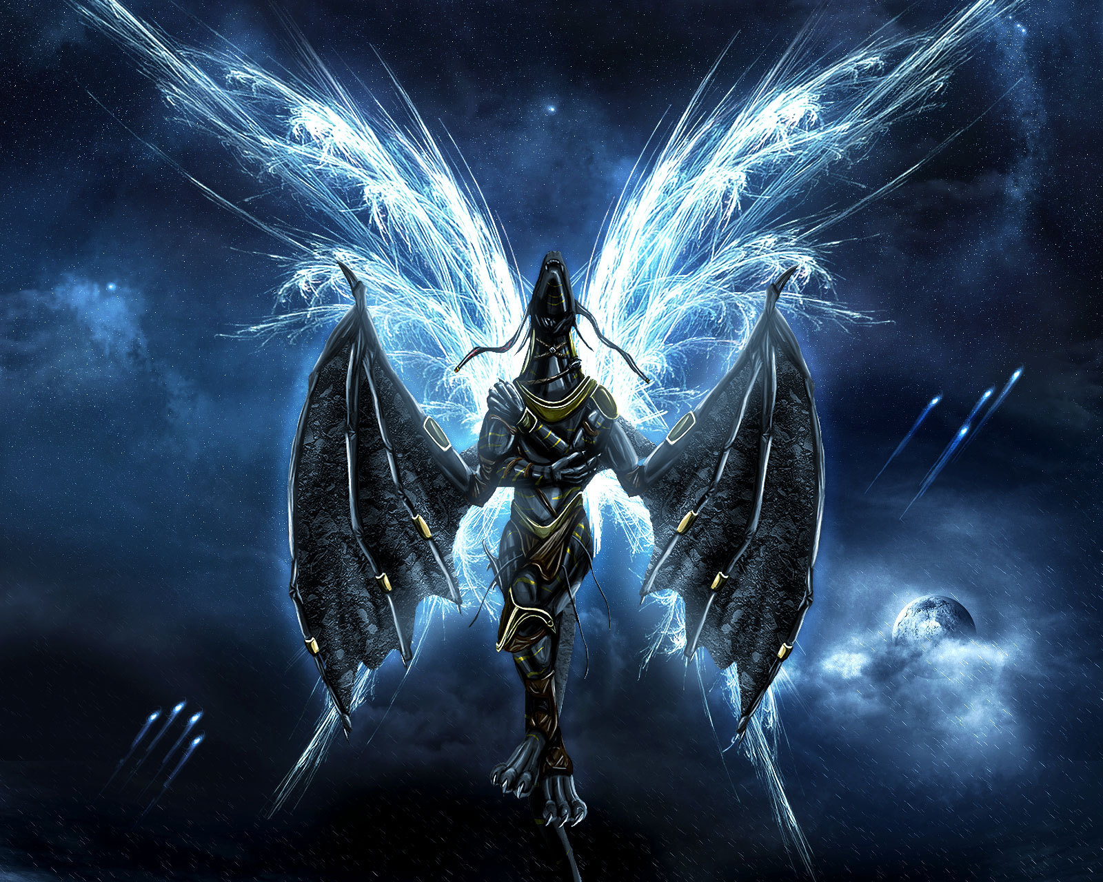 Fallen Angel Wallpaper For Android - Paragonx9 Chaoz Fantasy , HD Wallpaper & Backgrounds
