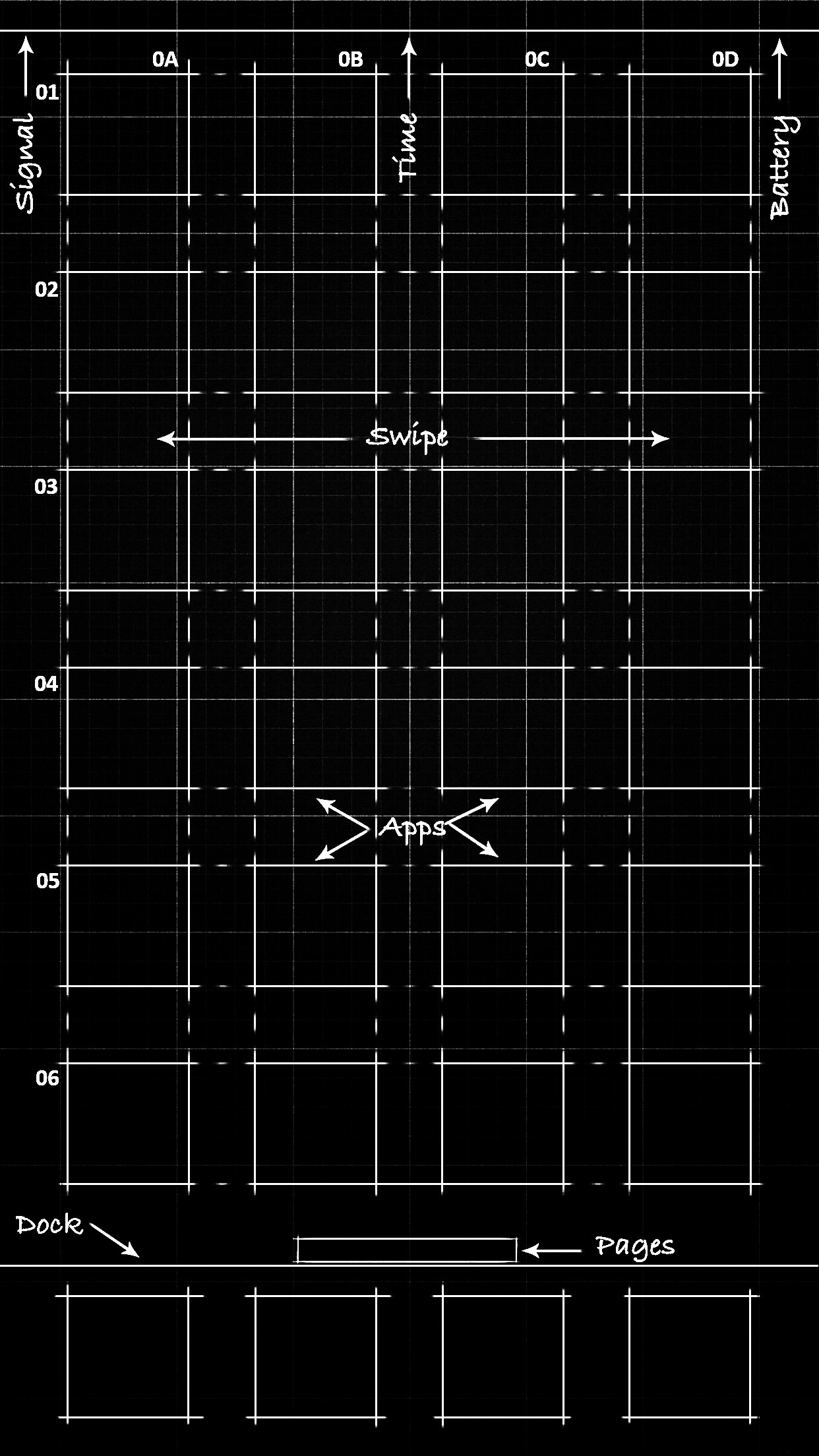 Black Blueprint Wallpaper Iphone X Hd Wallpaper 4k