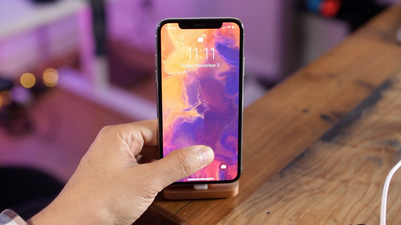 New Ios - Ios 11.2 Iphone X , HD Wallpaper & Backgrounds