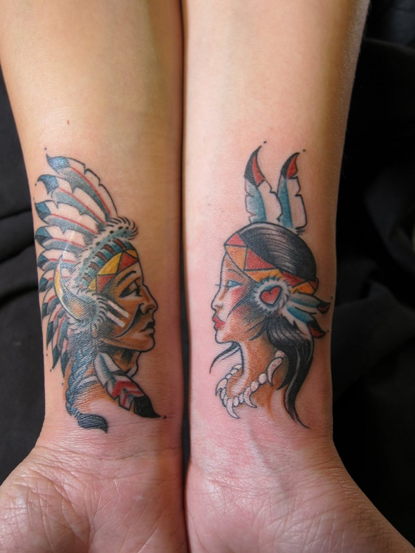 Couple Tattoo Designs Indian Tattoos For Couples 907451