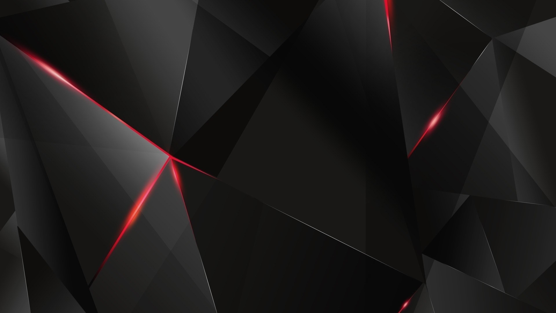 Black Wallpaper Wth Red 3d Effect 4k Black And Red