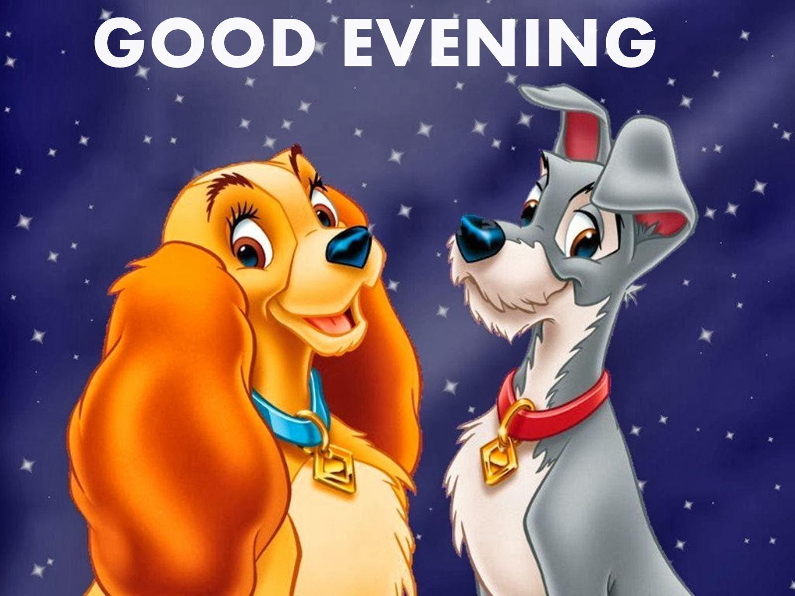 Good Evening Disney Cartoon Wallpaper Good Evening Images Cartoon 909319 Hd Wallpaper Backgrounds Download