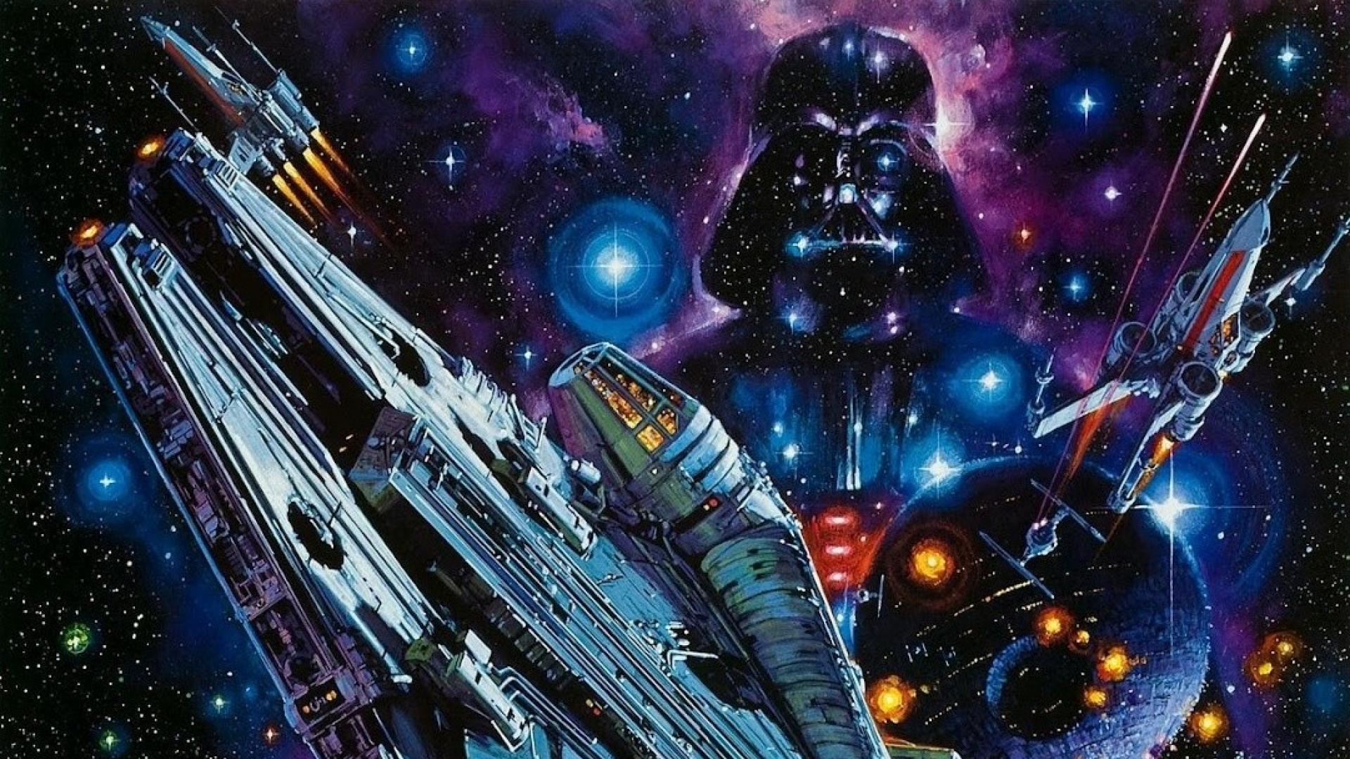 Darth Vader Millennium Falcon , HD Wallpaper & Backgrounds