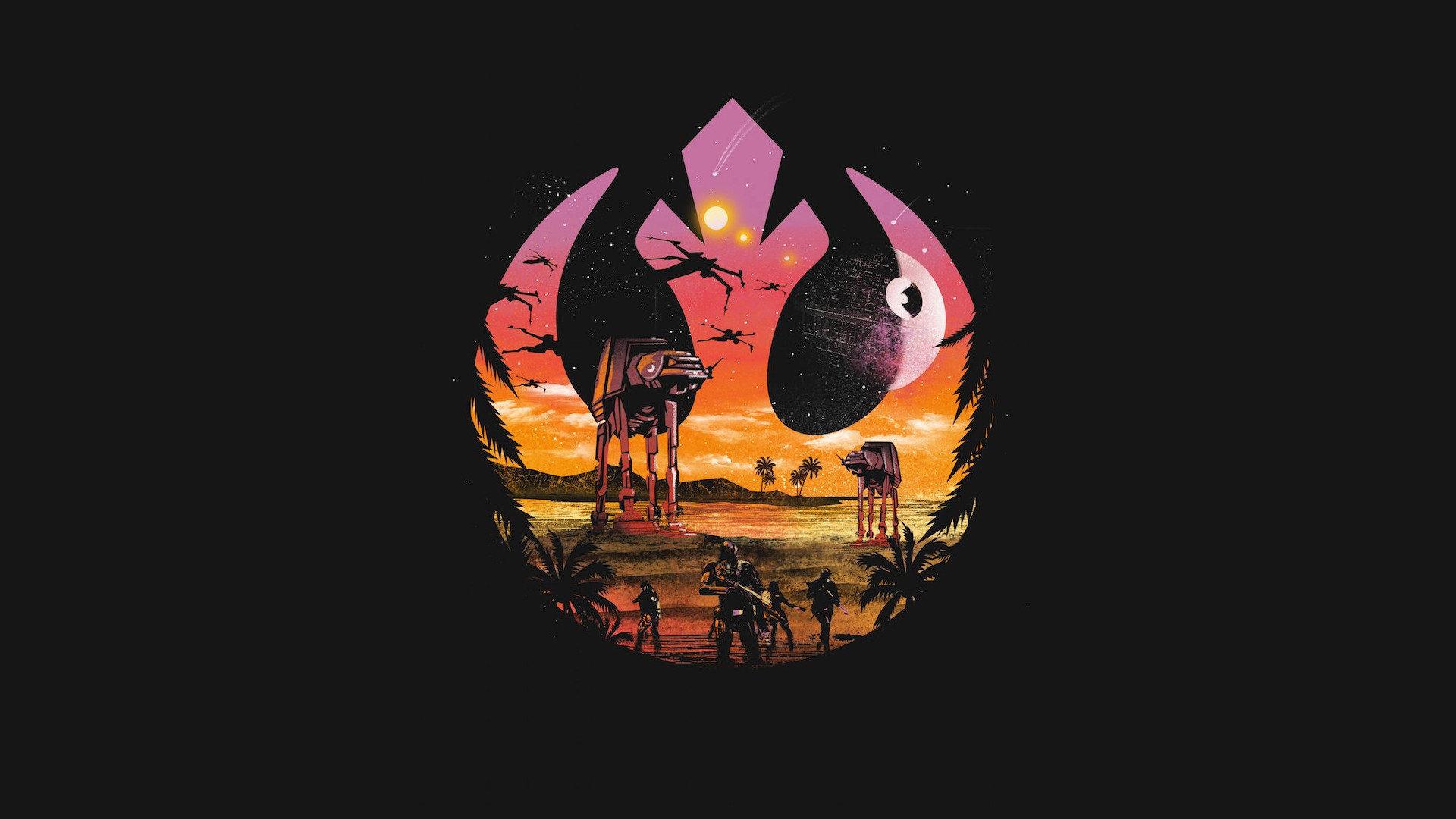 Best Rogue One Star Wars Font Art 910197 Hd Wallpaper Backgrounds Download