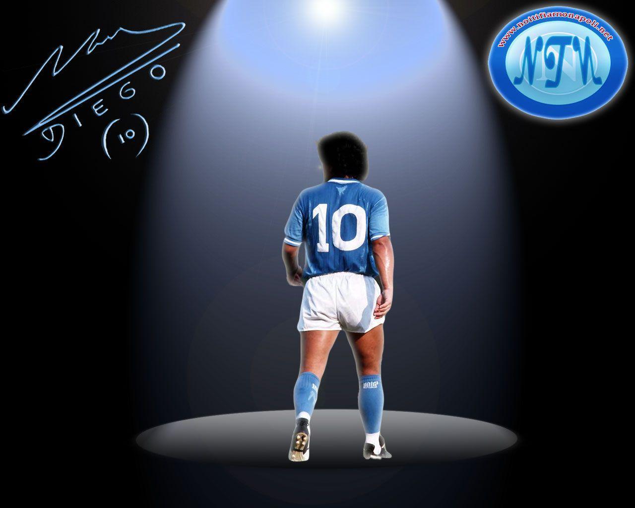 Napoli Fc Wallpaper - Sfondo Calcio Napoli Hd , HD Wallpaper & Backgrounds