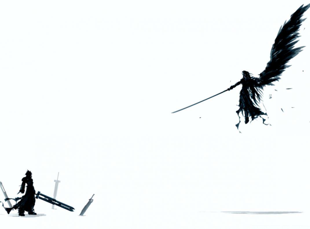 Dark Angel Anime 4k Hd Desktop Wallpaper For Dual Final