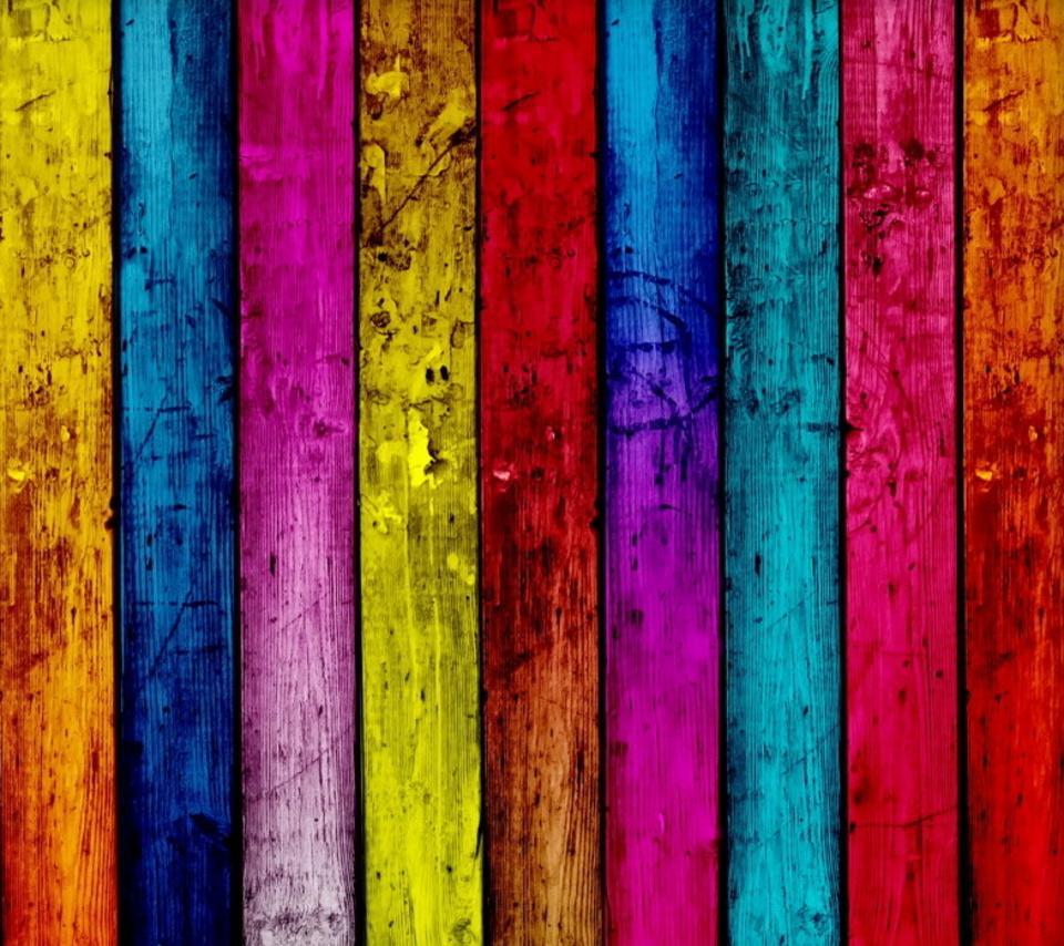 Motorola Rainbow Colors In Wood 918503 Hd Wallpaper
