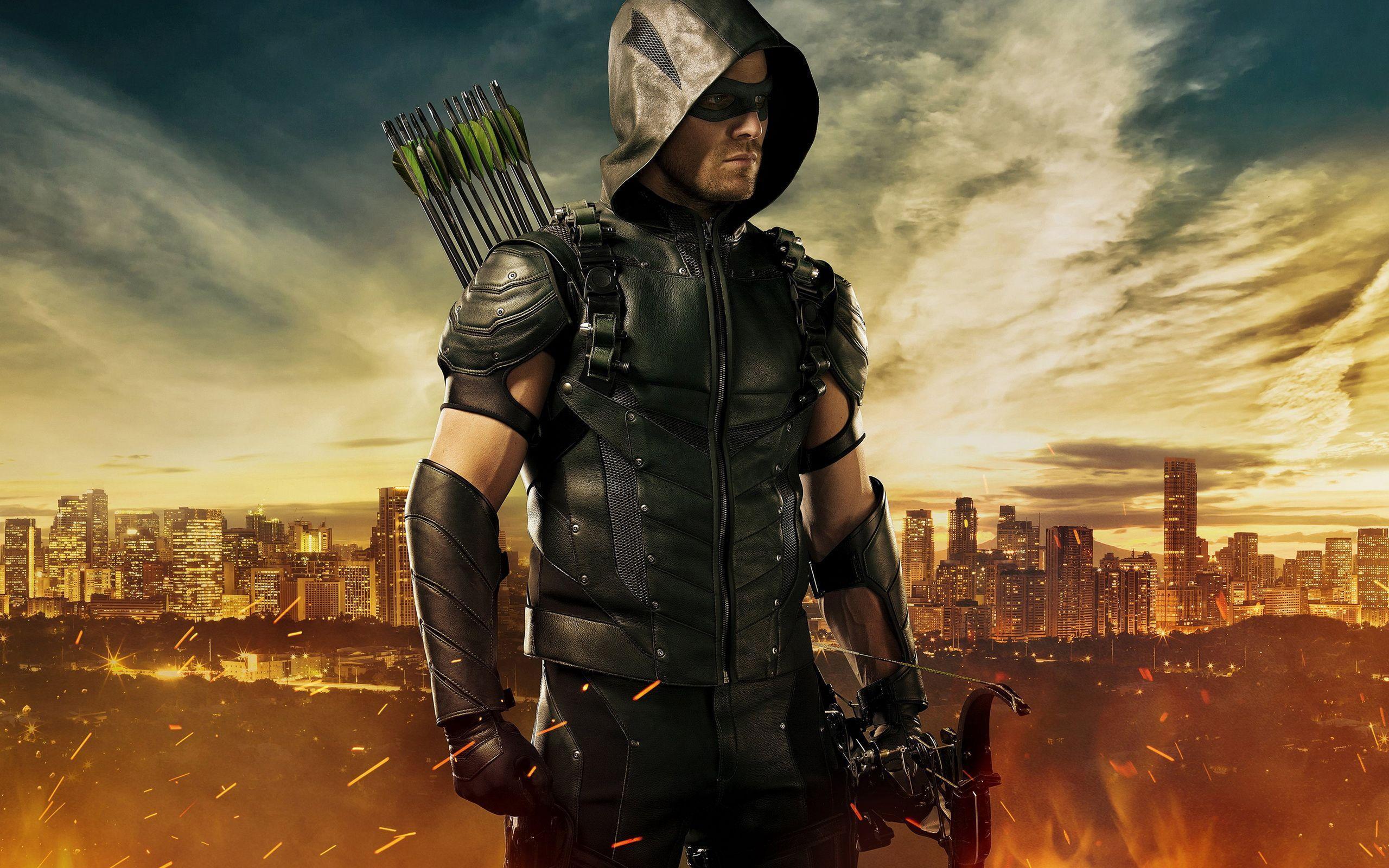 Tv Wallpapers 025 Arrow, Ash Vs Evil Dead, Breaking - Arrow Season 4 , HD Wallpaper & Backgrounds