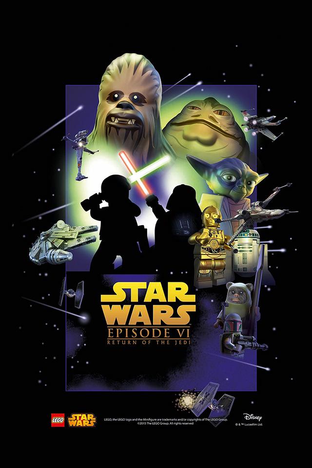 Com Iphone 4 Iphone 5 Ios7 Wallpaper Star Wars 4 6 Poster