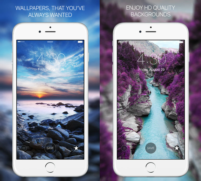 Best Five Free Wallpaper Ios Apps For Your Iphone Shotover