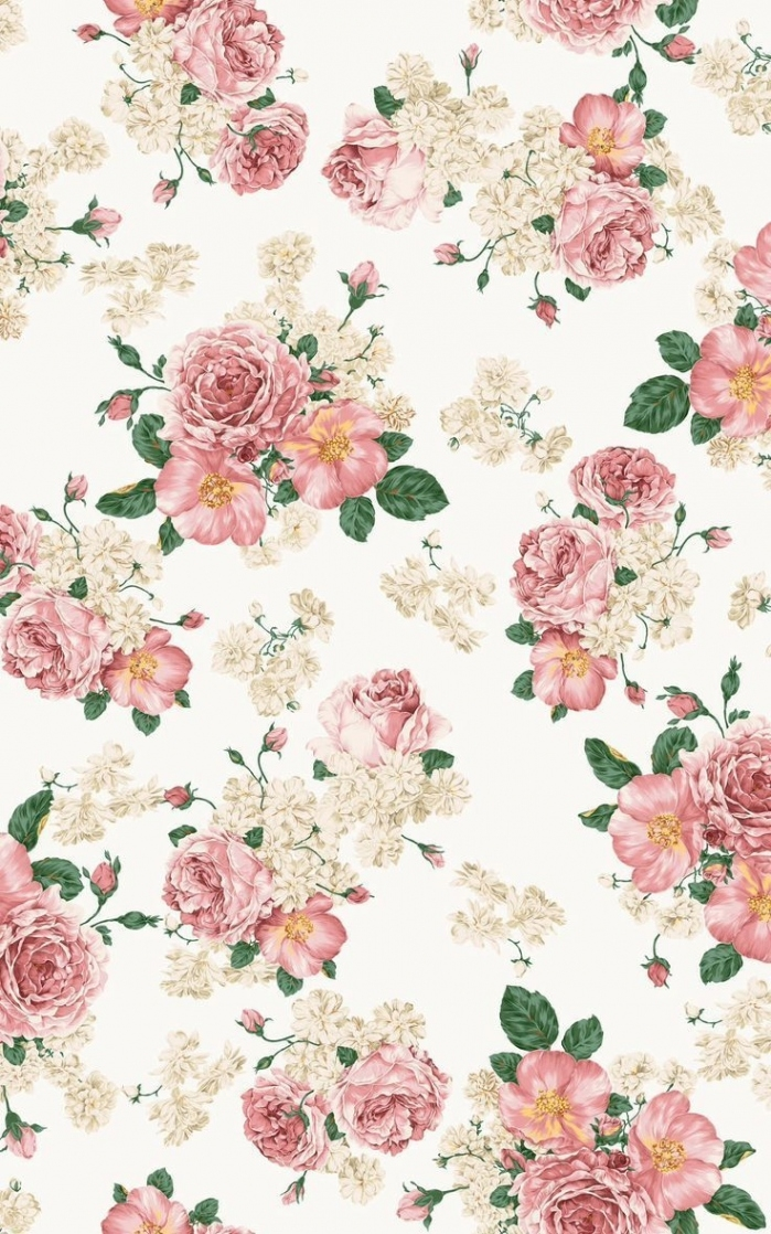 Best 25 Pink Floral Background Ideas On Pinterest - Cute Backgrounds For Girls , HD Wallpaper & Backgrounds