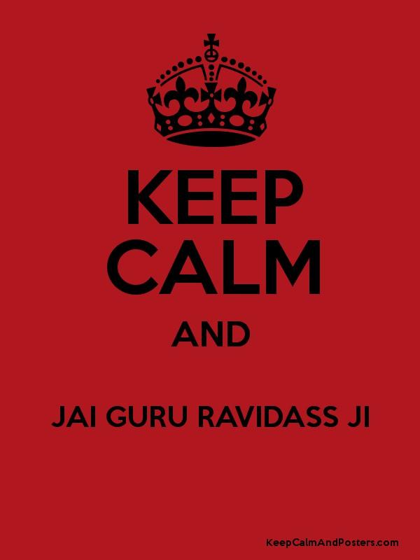 Keep Calm And Jai Guru Ravidass Ji Poster - Happy One Month Anniversary Bhaiya Bhabhi , HD Wallpaper & Backgrounds