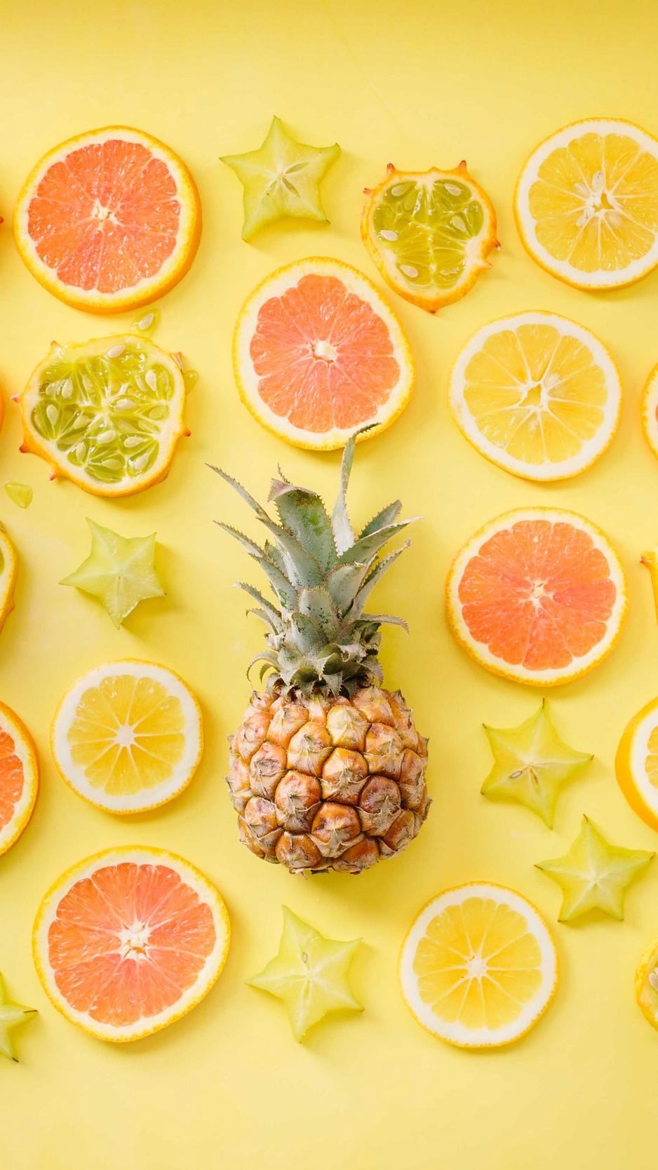 92 923506 wallpaper fruit citrus pineapple yellow lemon lemon yellow