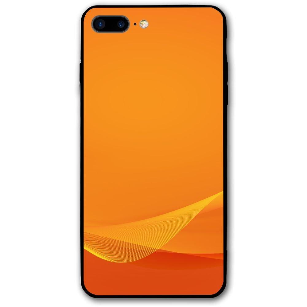 Pabcdef Wavy Orange Wallpaper Iphone 7 Plus8 Plus Mobile