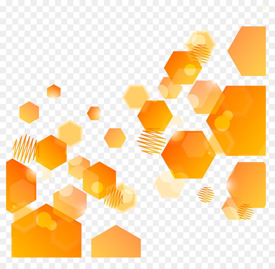 Abstract Art Orange Hexagon Yellow Computer Wallpaper Orange Hexagon Abstract Background Hd Wallpaper Backgrounds Download