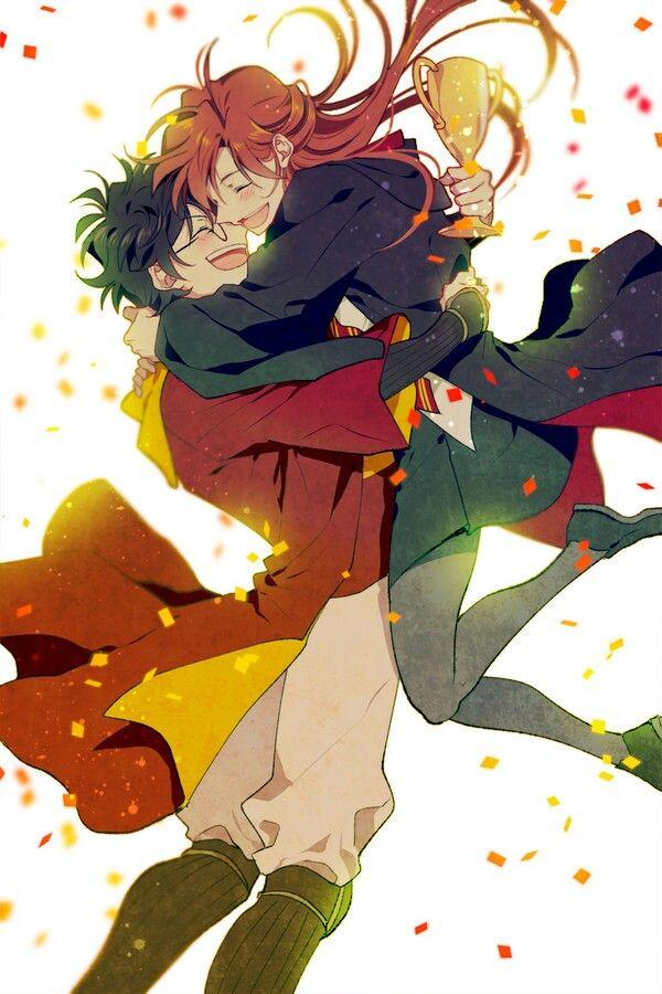 Slytherin Harry Potter, Harry Potter Ships, Harry Potter - James And Lily Potter Anime , HD Wallpaper & Backgrounds