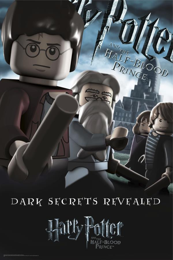 Custom Canvas Art Harry Potter Lego Poster Harry Porter - Harry Potter And The Half Blood Prince , HD Wallpaper & Backgrounds