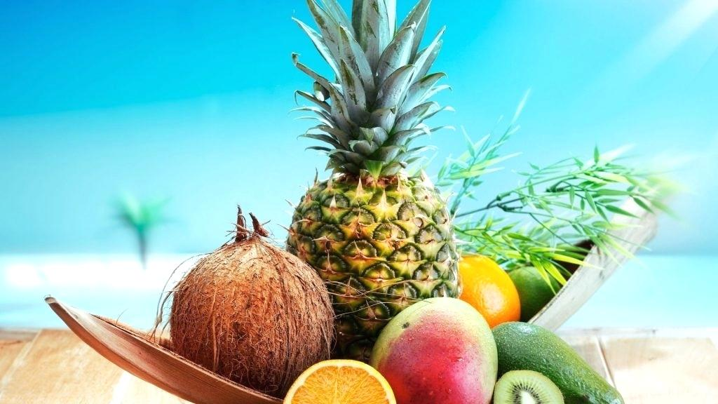 Animated Nature Wallpapers For Mobile Phones Hd Download - Pineapple And Coconut On Beach , HD Wallpaper & Backgrounds