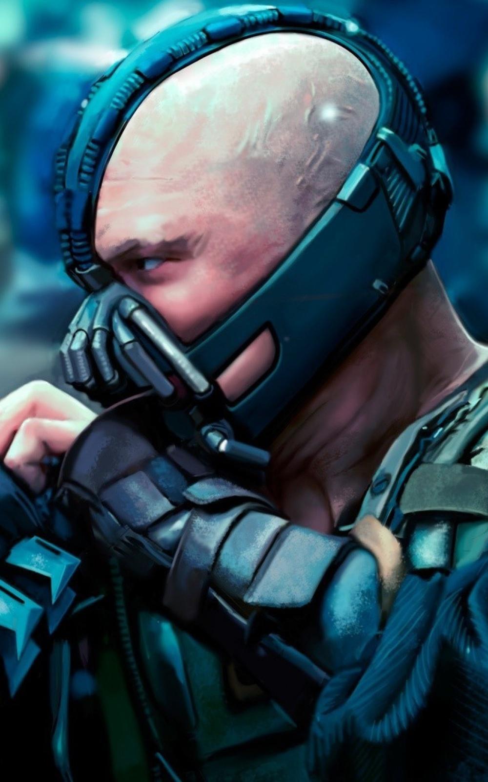 Download Link - Dark Knight Rises Batman Defeats Bane , HD Wallpaper & Backgrounds