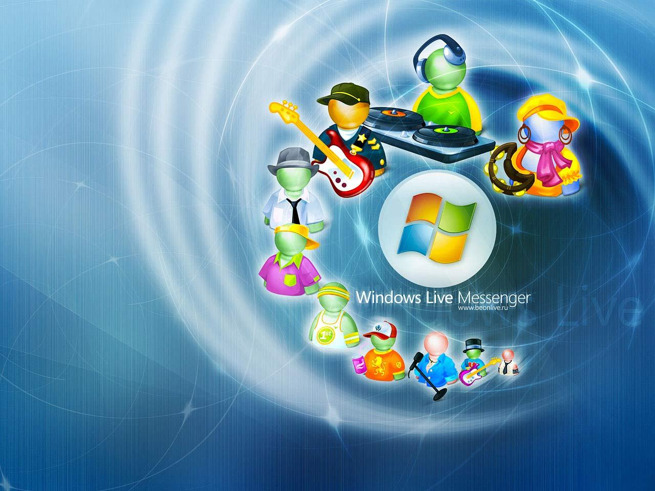 3d Live Wallpapers For Pc Windows Xp Free Download - Immagini Windows Live Messenger , HD Wallpaper & Backgrounds